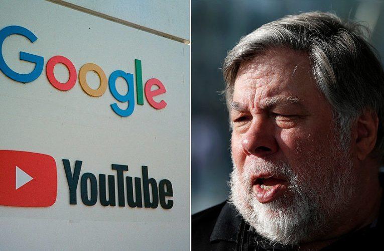 Steve Wozniak Sues YouTube Over Ongoing Bitcoin Scams