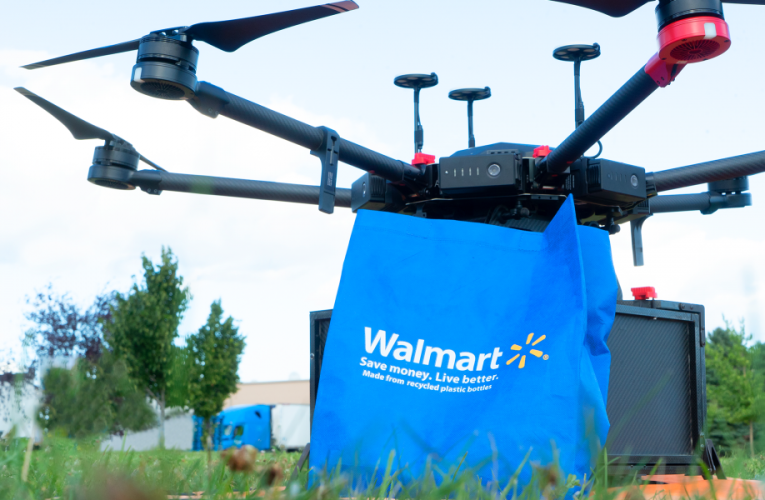 Walmart's Drones Have TakenOff to Fly High in Sky