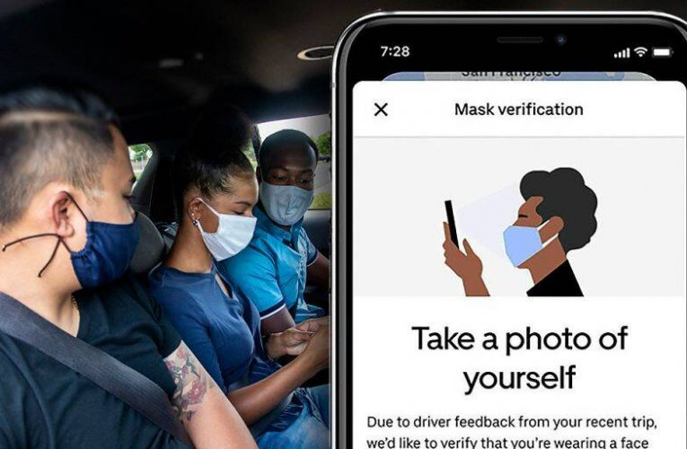 Uber Has Rolled Out A New Feature of Mask Verification for Riders Who Flout Mandate